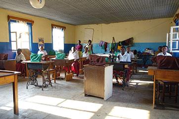 Unterrichtsraum in Mbinga