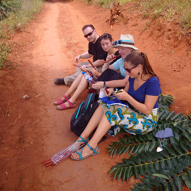 Vier von fünf Wazungu…
