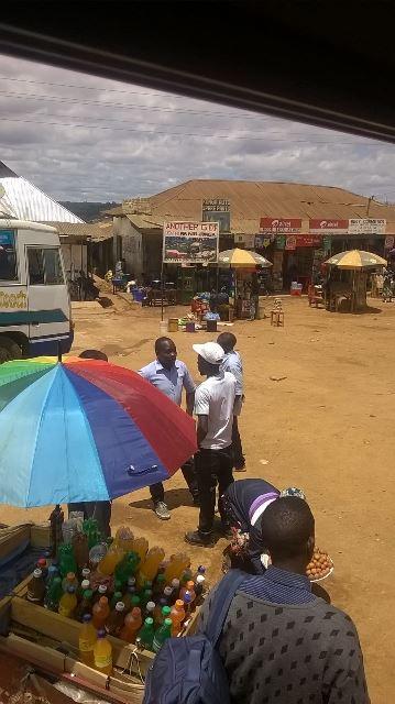 Kurze Pause in Njombe