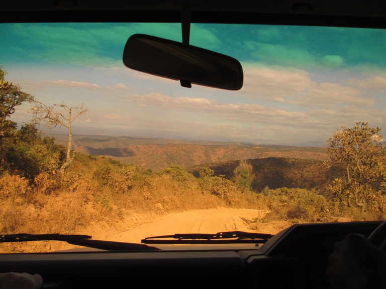 Fahrt nach Matamba