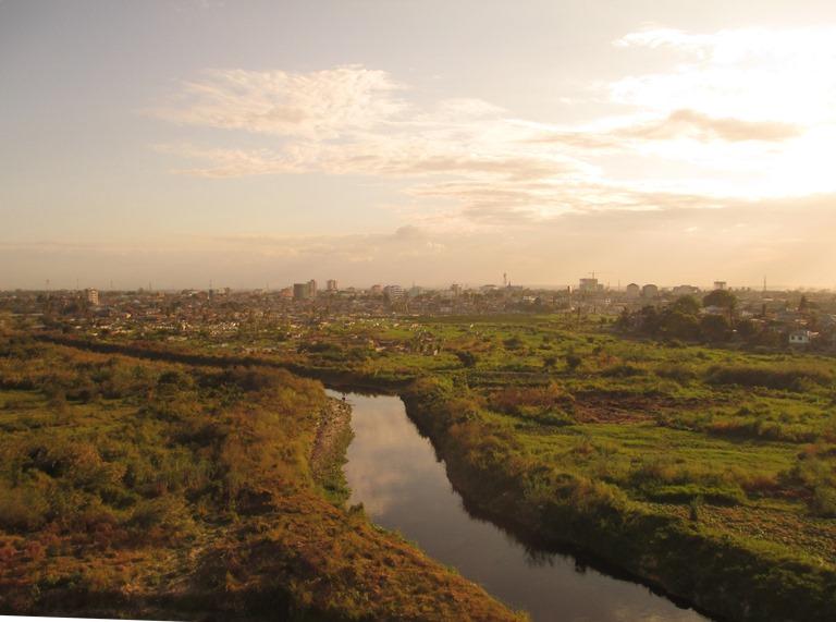 Blick aus dem Muhimbili-Hospital