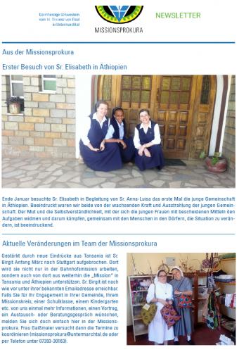 Titelseite Newsletter 01 2017