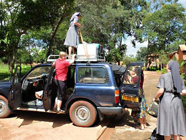 Transport nach Ruhuwiko